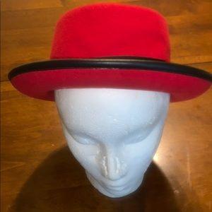 Women's derby style hat